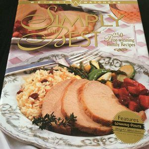 Weight Watchers Cookbook Simply The Best 250 Prize